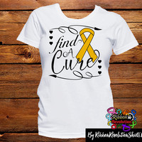Appendix Cancer Find A Cure Shirts