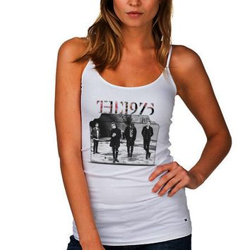 1975 Folder White Summer Tank Tops For Women