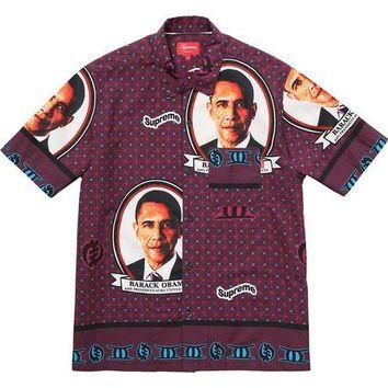 Supreme Obama Shirt - Red