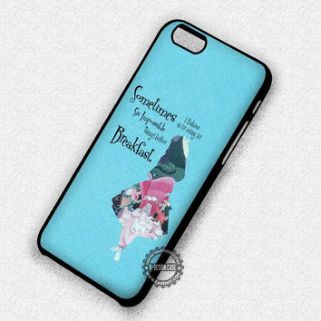 Alice In Wonderland Disney - iPhone 7 6 5 SE Cases & Covers