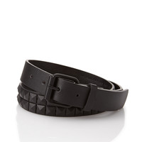 Studded Out Faux Leather Belt