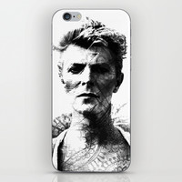 DAVID BOWIE iPhone & iPod Skin by Maioriz Home