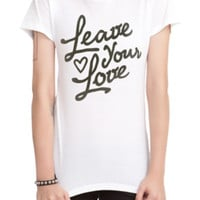 Tyler Carter Leave Your Love Girls T-Shirt