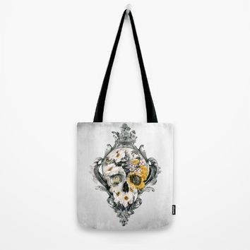 Skull Still Life Tote Bag by RIZA PEKER
