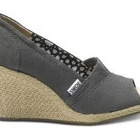 Ash Calypso Canvas Women's Wedges
