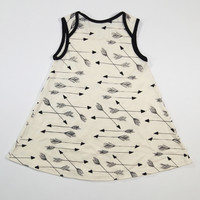 *Sample* Arrows Organic A-Line Dress in Natural - 6-12 Months