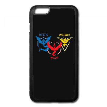 POKEMON GO TRIO TEAM iPhone 6/6s Plus Rubber Case