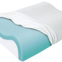 Sleep Innovations Cool Contour Memory Foam Pillow | Free Shipping
