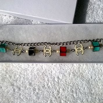 Beautiful & Modern Designer Inspired Charm bracelet