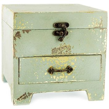 Antique Blue Box with Drawer | Shop Hobby Lobby