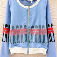 Sport Jacket with London Soldier Print YIR654 from topsales