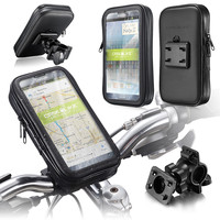 "Waterproof Bike Case 9920 bike mount, Mobile 5.2~5.7"" screen size, Black"