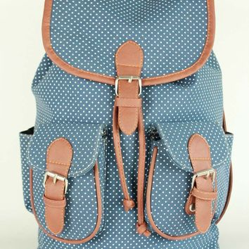 Comfort On Sale College Back To School Hot Deal Stylish Ladies Canvas Casual Backpack [8070741255]