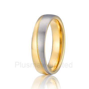 new arrival Titanium unique modern designs classic anti allergic titanium jewelry male engagement wedding rings men