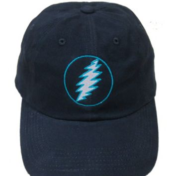 Grateful Dead - Teal Lightning Bolt Hat
