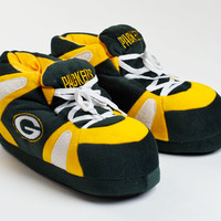 Green Bay Packers Slippers | NFL Team Slippers | BunnySlippers.com