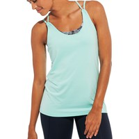 CALIA by Carrie Underwood Women's Cross Back Double Layer Tank Top | CALIA Studio
