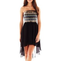 Love Reigns Sequin High-Low Dress