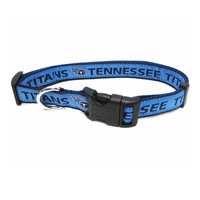 Mirage Pet Products Puppy Dog Cat Control Tennessee Titans Sports Team Logo Collar Small