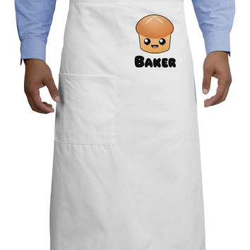 Baker Cute Roll Adult Bistro Apron
