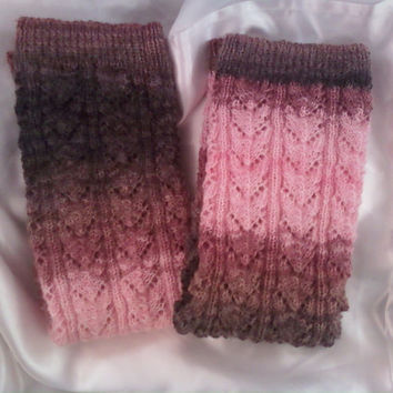 Knee-high Lacy Leg Warmers