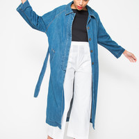 M.I.H. JEANS | Raglan Denim Coat- Stone Blue