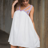 Trust Your Heart Dress, Ivory