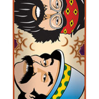 Flip: 8.13in x 32.00in Penny Cheech and Chong Tie Dye Deck