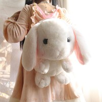 Cute Plush Rabbit Backpack