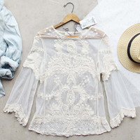 Mirage Lace Top