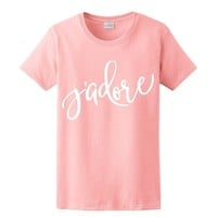 Jadore, Valentines Day Women's T-Shirt