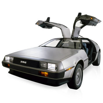 Electric DeLorean DMCEV at Firebox.com