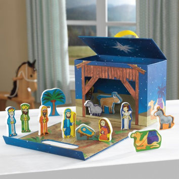 Travel Box Play Set - Nativity Scene