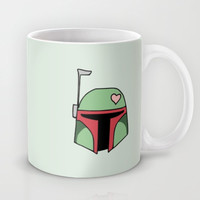 Boba Fett Valentine Mug by August Decorous