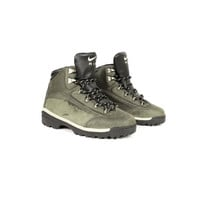 90s NIKE AIR ACG leather hiking boots - like new - vintage 1990s - green - uk 5.5 - eur 38.5 - mens 6