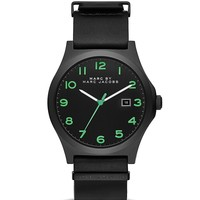 MARC BY MARC JACOBS Jimmy Leather Strap Watch, 43mm