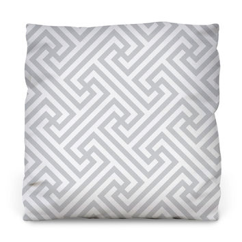 Impossible Labyrinth Throw Pillow