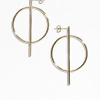 & Other Stories | Geometric Shapes Earrings | Gold