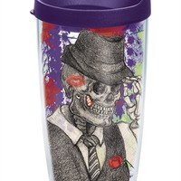 Dressed Up Skeleton - Wrap with Lid | 16oz Tumbler | Tervis®