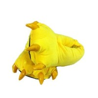 Ninimour Claws Shoes Halloween Costume Plush Slippers (M, Pikachu)