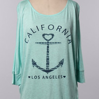 California Sailing Top - SexyModest Boutique