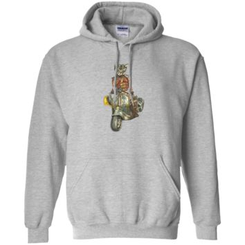 vintage motorcycle cat with goggles sweatshirt T-Shirt