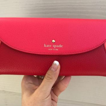 NWT Kate Spade New York Cobble Hill Trista Iked Wallet Clutch Purse $228