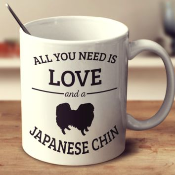 All You Need Is Love And A Japanese Chin