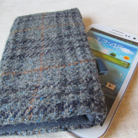 iphone 6 NEW Samsung S4 Harris Tweed Wool Cover