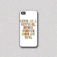 One Direction 1D - Print on Hard Cover for iPhone 4/4s, iPhone 5/5s, iPhone 5c - Choose the option in right side