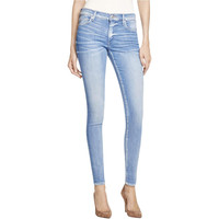 True Religion Womens Halle Stretch Mid-Rise Skinny Jeans