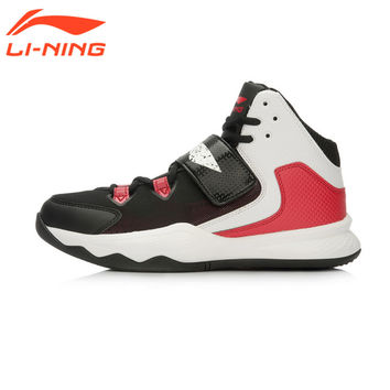 Li-Ning Men's Basketball Court Shoes Outdoor Cushioning Sneakers Hi-top Design Outdoor Sport Shoes ABFL009 XYL087 LiNing