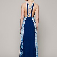 Free People Womens Maheya Cross Over Maxi