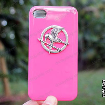 catching fire iphone 4 case Ancient silver,hot pink case,iphone 5,5s case iphoen 5c case swallow luxury iphone case designercrystal case